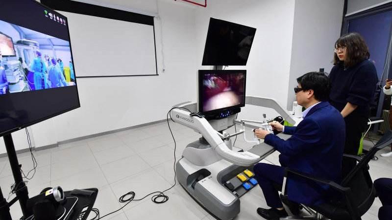 世界首例5G遠程操控人體手術在三亞順利完成