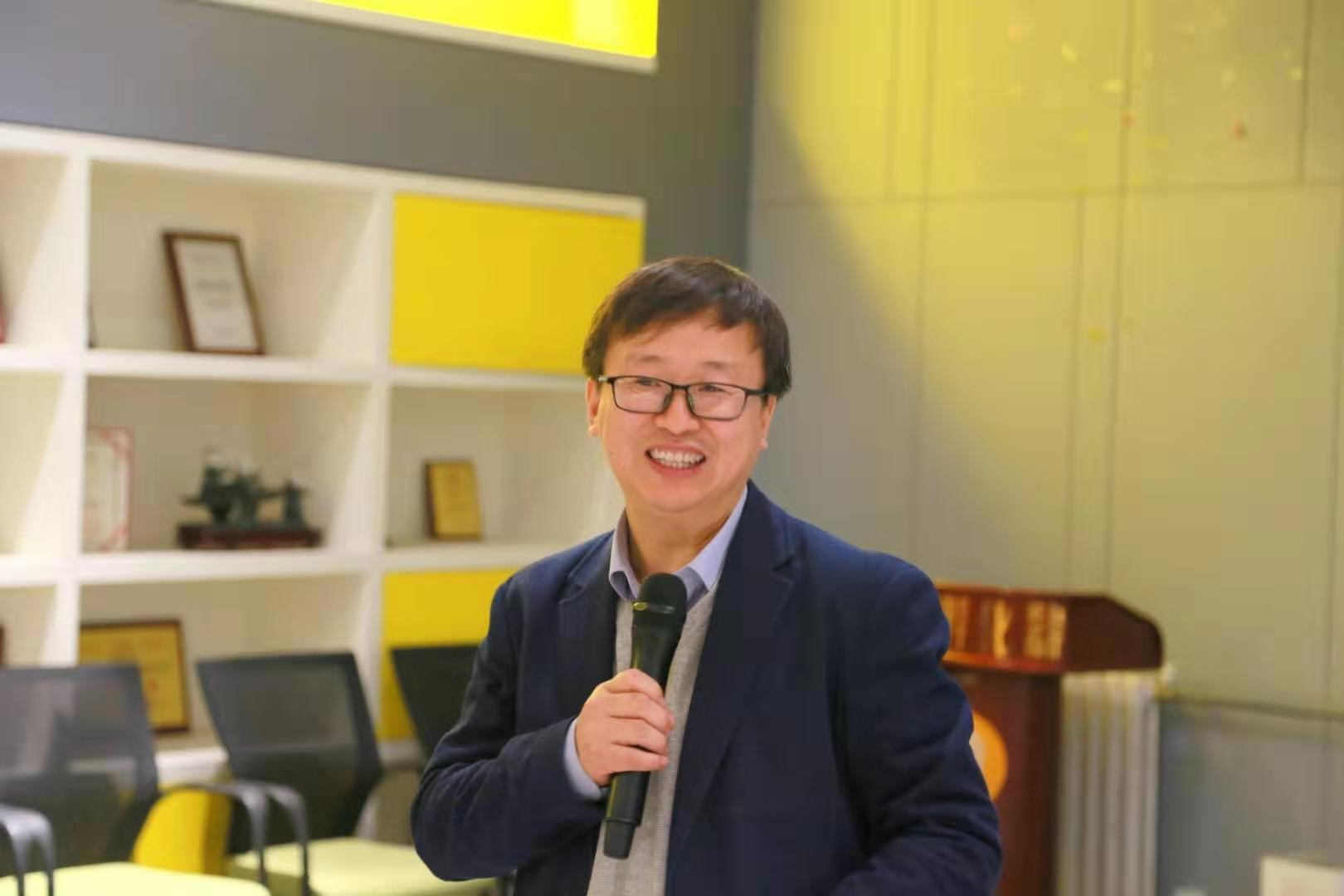 赛智区块链创始人赵刚博士受邀为中关村投资人做《解读总书记讲话看区块链未来发展》的主题演讲